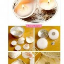 ساخت شمع با صدف