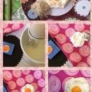 صبحانه کامل با تخم مرغ